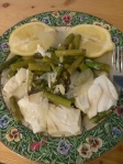 Poached Halibut Asparagus