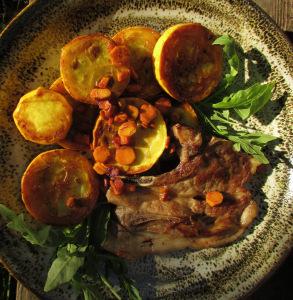 Zucchini with Turmeric 2